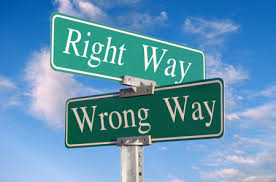 RIGHTWAYWRONGWAY