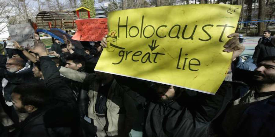 Holocaust Denial and Religious Persecution, Courtesy of the White House