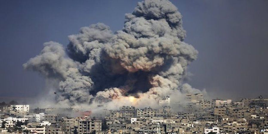 Brutal Israeli Bombing, Palestinians in Gaza are Thirsty, in the Dark, and lack Medicine, and Thousands are Homeless